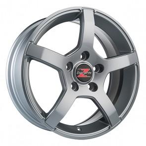 4.5x13/4x100 CB57.1 ET30 Barzetta Carrello Silver
